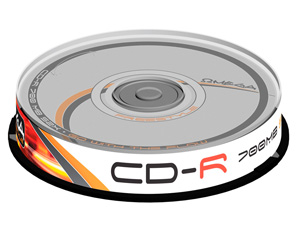 Płyta CD-R 700MB X52 Freestyle Omega 10szt.