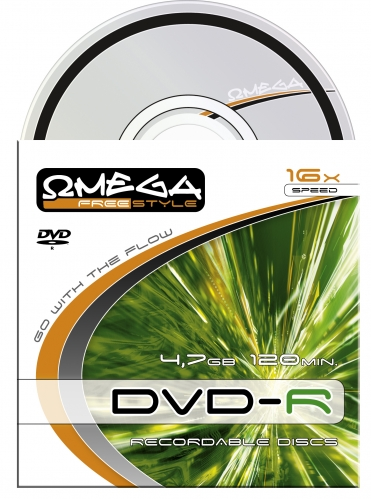 Płyta DVD-R 4,7GB X16 Freestyle Omega