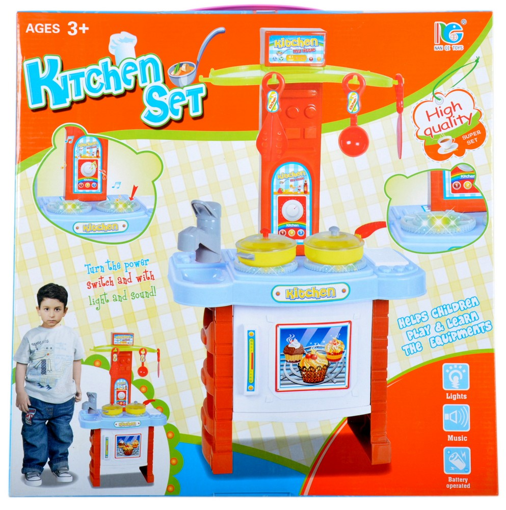Kuchnia Kitchen Set 41X41X6 B/O Mega Creative