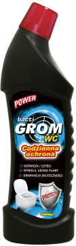 Power Bacti Grom WC 750 ml Sidolux